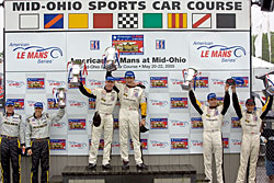 Mid Ohio Podium