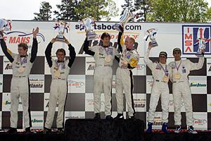 Road Atlanta Podium